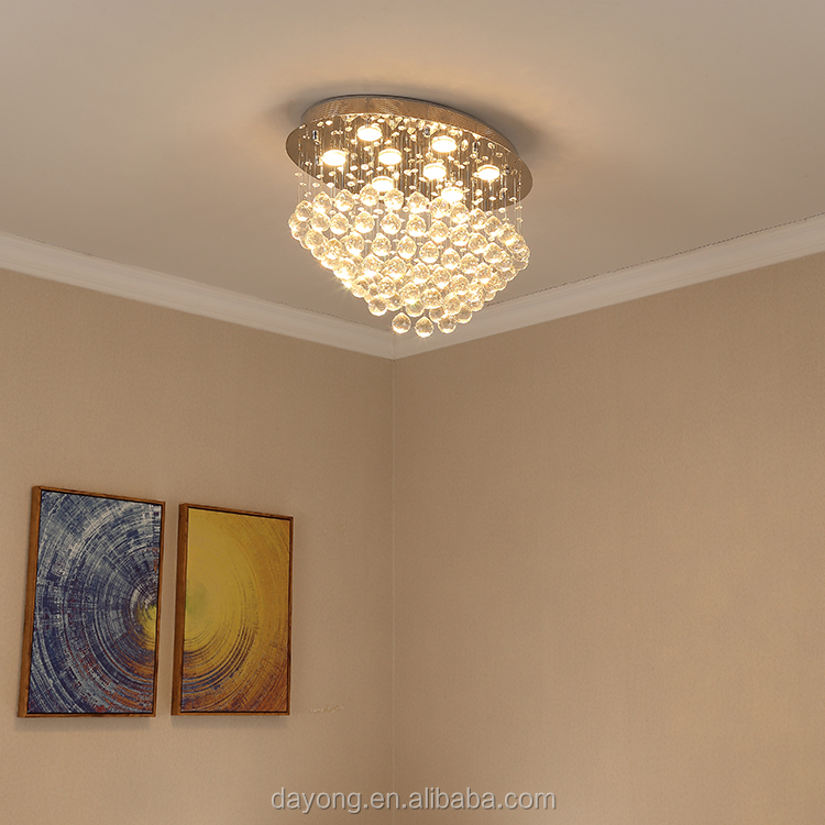 China modern decorative crystal chandelier pendant lighting