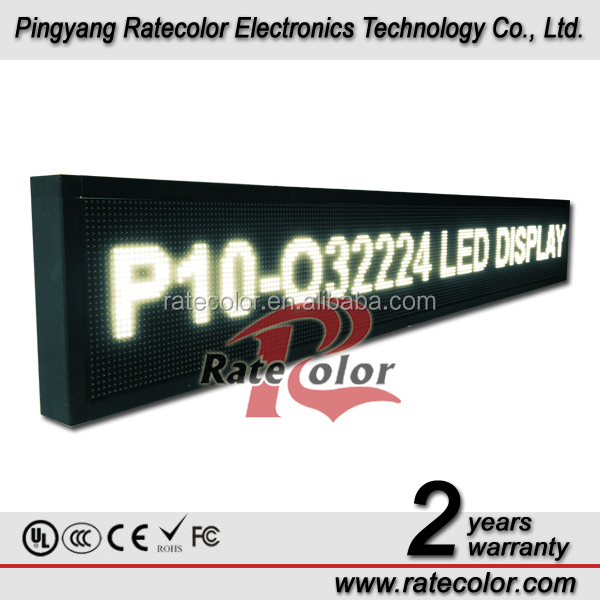 Competitive price! outdoor programmable P10 led moving message sign display /ali express outdoor advertising led display screen