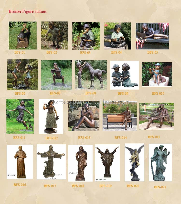 outdoor life size bronze boy playing with dog sculpture for garden decoration GBF-C024V