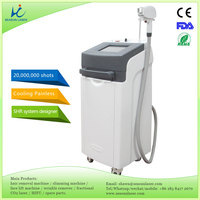 3 years warranty 20000000 shots painless 808nm diode laser hair removal service