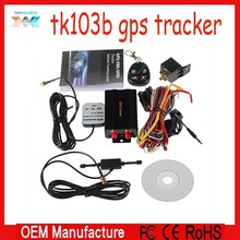 cheap Real time GSM/GPRS/GPS Car Vehicle Tracker Remote Control Shake Sensor TK103B
