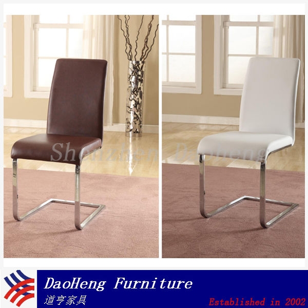 Clasical Home Furniture Leather armrest dining chair
