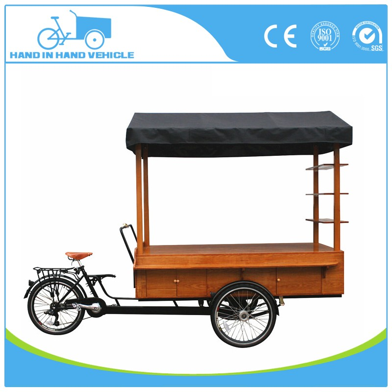 mobile food truck coffee kiosk bike electric food trike