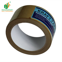 Custom Self Adhesive Kraft Paper Tape Heavy Duty Packing Tape