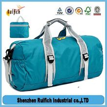 Promotional tote foldable travel bag,leisure travel luggage folding single shoulder bags,new design fancy travel bag