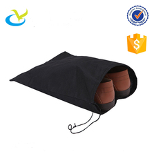 Wholesale eco-friendly recyclable pp non woven drawstring small pack cinch shoe bag