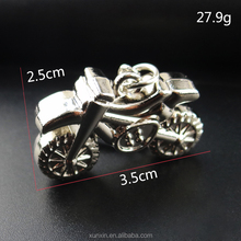3D metal motorcycle keychain Practical gifts advertising promotional gifts