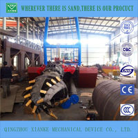 none self propelled hydraulic dredger