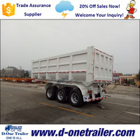 Dump Trailer With Hydraulic Cylinder And Tipper Jack From China