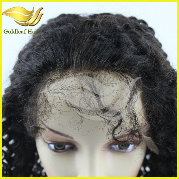 Christmas promotion cheap price mongolian hair glueless full lace wig kinky curly
