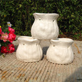 New design ceramic pot for artificial flower decoration ceramic indoor plant pots hot selling cheap ceramic flower pots