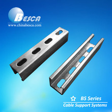 Stainless Steel SS304 Slotted Unistrut Channel 41x41x2.0mm