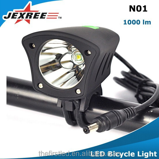 Jexree Bicycle accessories 1000LM Cycling Bicycle mountain bike light cheap bicycle led light