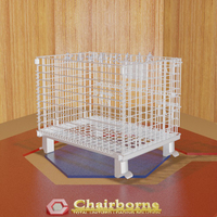 Innovation design strong warehouse storage wire mesh pallet container