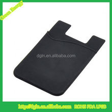 Mobile Phone Case Card Holder Wallet, Cell Phone Pocket Silicon Card Holder