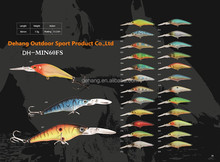 Wholesale Threadfin Shad Crankbait Hard Fishing Lure School 3 Fish Baitball Fishing Lure