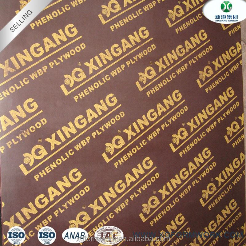 China Exporter 12mm Film Faced Plywood for Construction Price