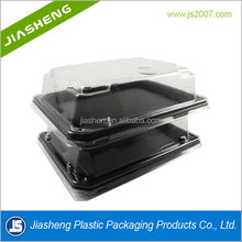 New Product 500ml Disposable Plastic Fast Food Packaging Box Containers