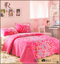 Romantic luxury bridal bedspread, fancy bedspread set