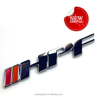 Various custom car 3d chrome emblem