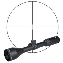 GZ1-0277 3-9X50 Tactical Fast Focus Riflescope Red Dot Hunting Rifle scope 20mm and 11mm Rail