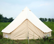 Single ultra light rain proof tent Field camping rides equipped with four windbreaks Bell Tent