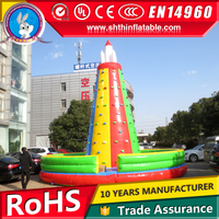 factory made inflatable water rock climbing wall