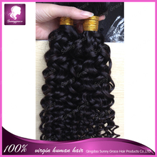 Alibaba <strong>express</strong> in spanish unprocessed hair weft natural black curly wholesale grey hair 130% heavy density for black women
