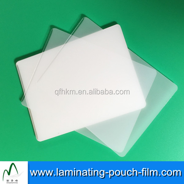 Anti-scrach Heat Sealing 125mic Photograph Glossy Lamination Pouches Films