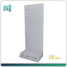 Supermarket air conditioning metal perforated display rack water dispenser display rack for sale