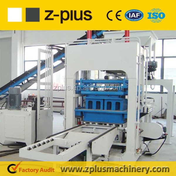 Economic QTY6-15 small scale block machine for construction project