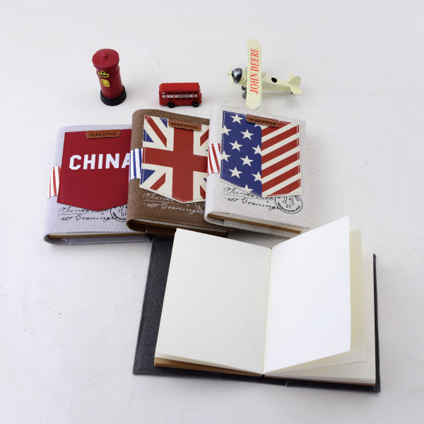 Languo flags style fabric cover notebook for wholesale gifts Model:LGGQ-2815