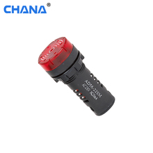 AD22-16MSD 16mm red buzzer 230V indicator lamp