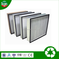 2015 hot sell 0.2 micron filter air conditioning filter