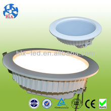 AC85-265V warranty 3 years 1450lm 7-24W LED downlights 90mm cutout size dimmable LED downlighting high quality COB LED