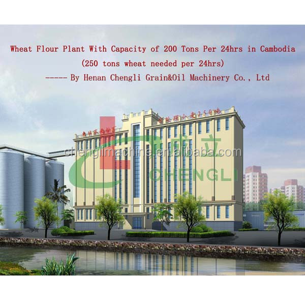 large scale flour mill, wheat flour mill, wheat flour mill machinery