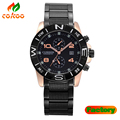 Fashion CURREN Stainless Steel Band Stylish Casual Watch Men