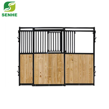 Horse Stable Fronts Door and Side Panels with bamboo wood