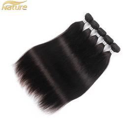 Wholesale Unprocessed 100% Virgin Brazilian Hair Real Mink Brazilian Silky Straight Human Hair factory price