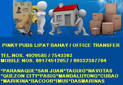 PINKY PUBS LIPAT BAHAY AND TRUCKING SERVICES