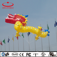 outdoor gaint inflatable helium dragon shape balloon