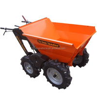 Wholesale china best 5.5Hp gaslione engine power 1/4 power barrow,power wheel barrow,motorized wheel barrow
