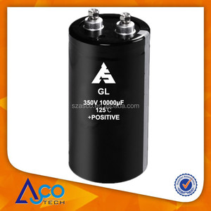 350V 10000uF 89*195 125C super capacitor