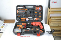 portable universal electric drill tool kit set tooling