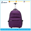 Good hiking trolley backpack laptop backpack with trolley
