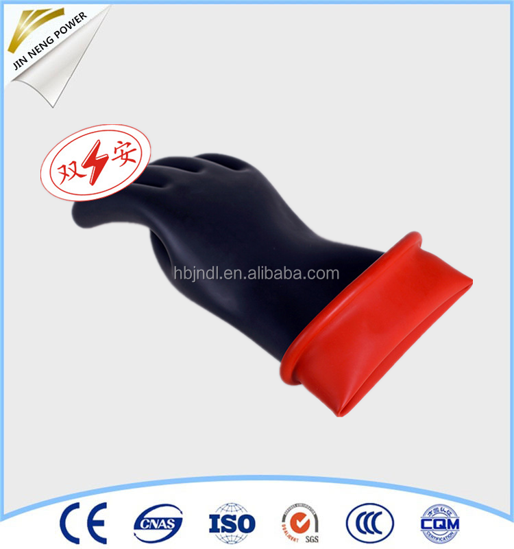 40kv safety protection electric insulation glove