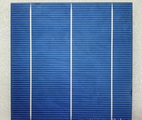 High efficiency 156*156 6'' 2BB/3BB polycrystalline solar cell made in China
