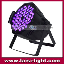 High quality Disco Stage lighting 54pcs*3W LED UV Par Light .Professional RGBW UV Dj Equipment LED Par light