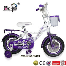 children games bike with training whels kids bycicle
