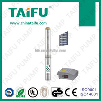 TAIFU 3.5 '' inch submersible deep well 2 impellers 2 hp centrifugal pump
